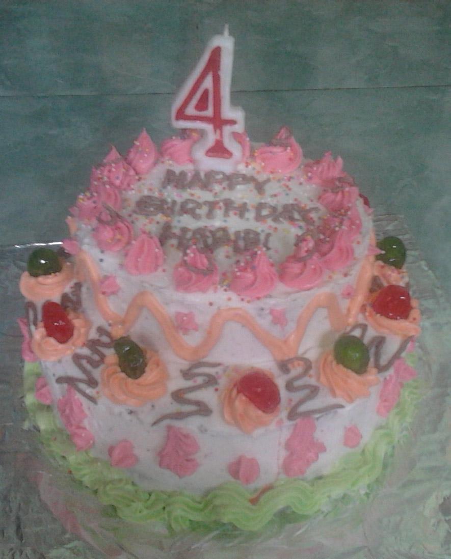 Resep membuat cake ulang tahun hidup indah bersama rasulullah